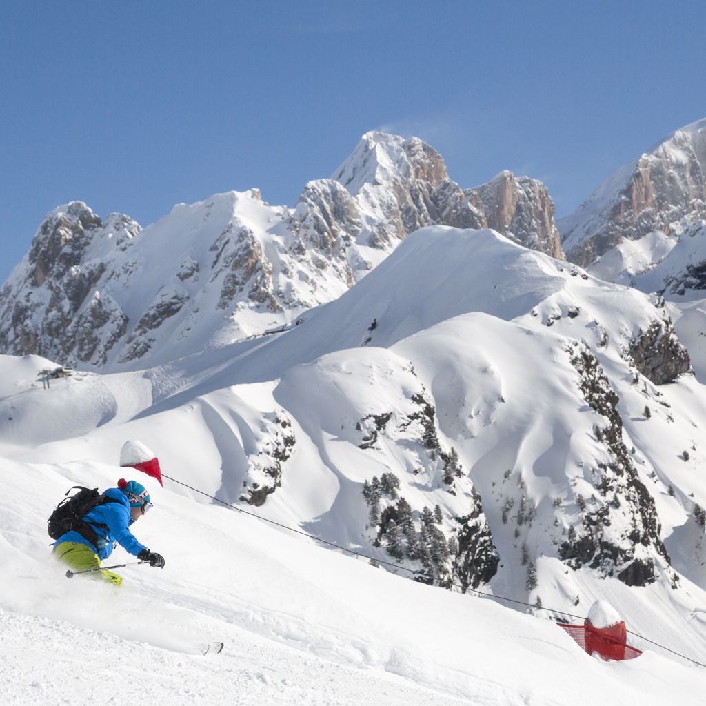 Ski with Silver in Val di Fassa